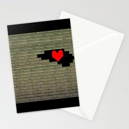 Breaking Heart Stationery Cards