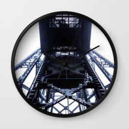 Foggy Lift #4 Wall Clock