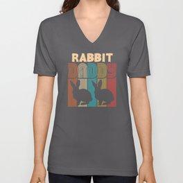 Bunny Dad Unisex V-Neck