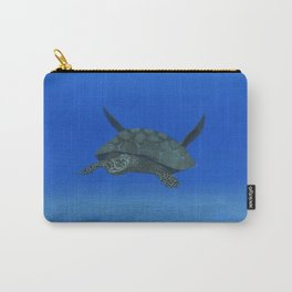 Peaceful Sea Turtle Carry-All Pouch