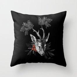 Renaissance Noir II Throw Pillow