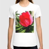 tulip T-shirts featuring Tulip by Mr and Mrs Quirynen