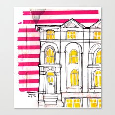 london house Canvas Print