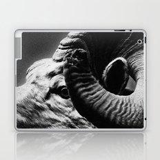 Tom Feiler Black and White Ram Laptop & iPad Skin