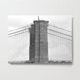 brooklyn bridge photography Metal Print