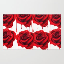 Painting the Roses Red Rug
