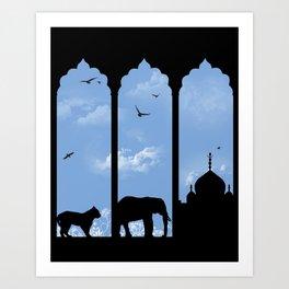 Windows Art Print