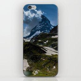 The Matterhorn Zermatt Switzerland iPhone Skin