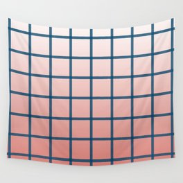 grid pattern Wall Tapestry
