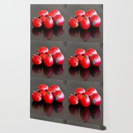 Group of ripe briar berries Wallpaper