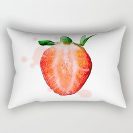 Strawberry Rectangular Pillow