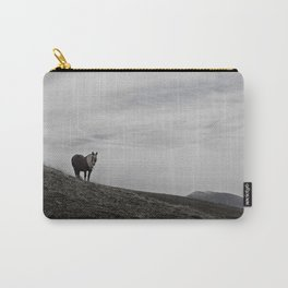 A Pony in the Pyrenees Carry-All Pouch