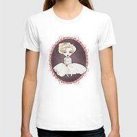 marylin monroe T-shirts featuring Sparkling Marylin by Zazie-bulles