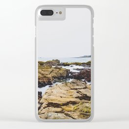 Tide Pools Clear iPhone Case
