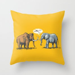 Cut your hair! Throw Pillow