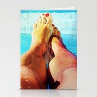 feet Stationery Cards featuring Feet by Carol MoTa