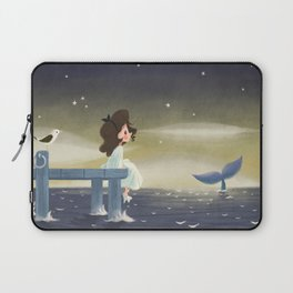 Le chant des baleines Laptop Sleeve