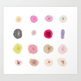 buttholes Art Print