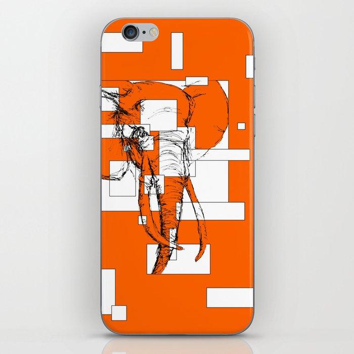 Orange is the New Elephant iPhone Skin