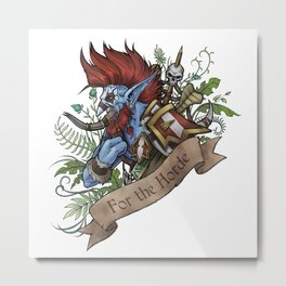 Warchief Metal Print