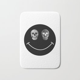 Just keep smiling Bath Mat