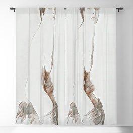 Shame (Self Portrait) Blackout Curtain
