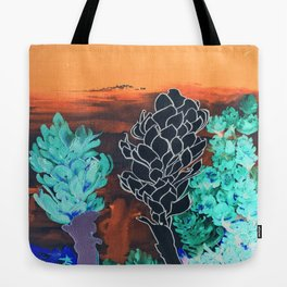 DESERT NIGHT Alpinia Purpurata Tote Bag