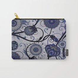 Denim Blues Carry-All Pouch