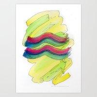 Aquarius Flow Art Print