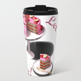 Let them eat cake! Travel Mug