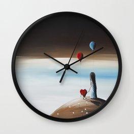 One Step To Heaven by Shawna Erback Wall Clock