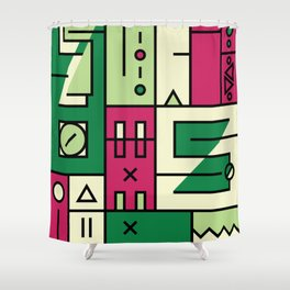 Play on words | Such is life Shower Curtain