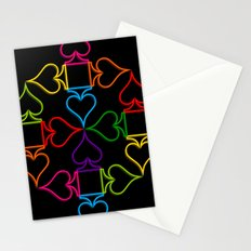 As (Black) Stationery Cards