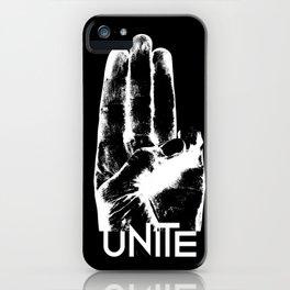 Unite Mockingjay iPhone Case