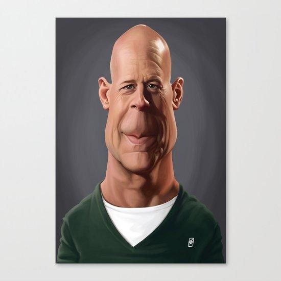 Celebrity Sunday - Bruce Willis Canvas Print