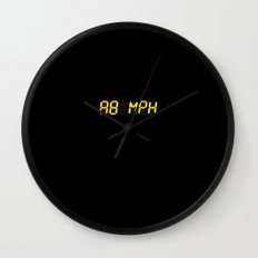 88 mph - Back to the future Wall Clock
