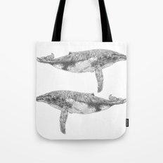 A Humpback Whale Tote Bag