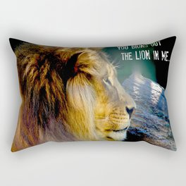 Darling You Bring Out The LION In Me... Rectangular Pillow