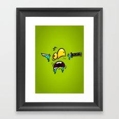 THE SWORD Framed Art Print