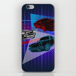 80s Supercars iPhone Skin