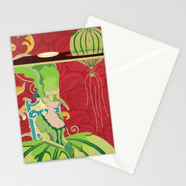 Portrait of Seraphin Stationery Cards