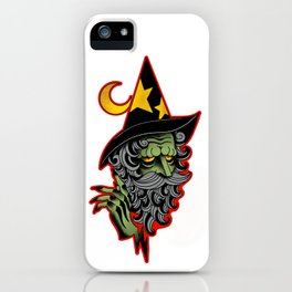 Wise Wizard iPhone Case
