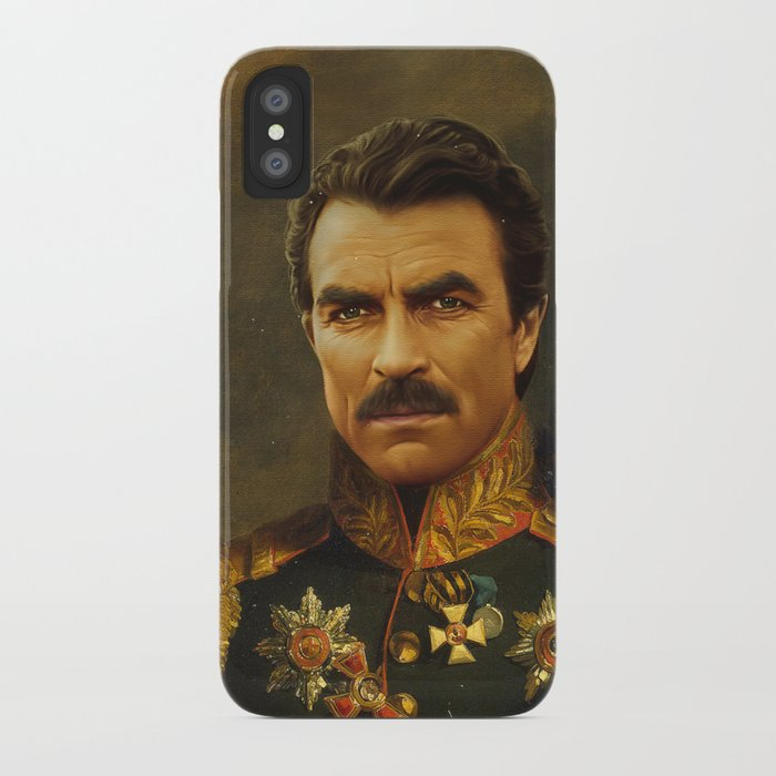 Tom Selleck - replaceface iPhone Case