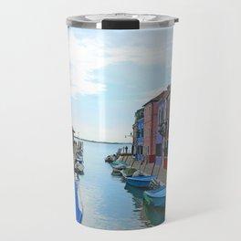 Lace Island - end of the street Travel Mug