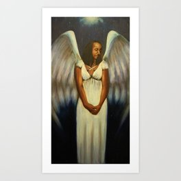Angel 1 Art Print