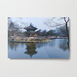 Gyeongbokgung in Spring Metal Print