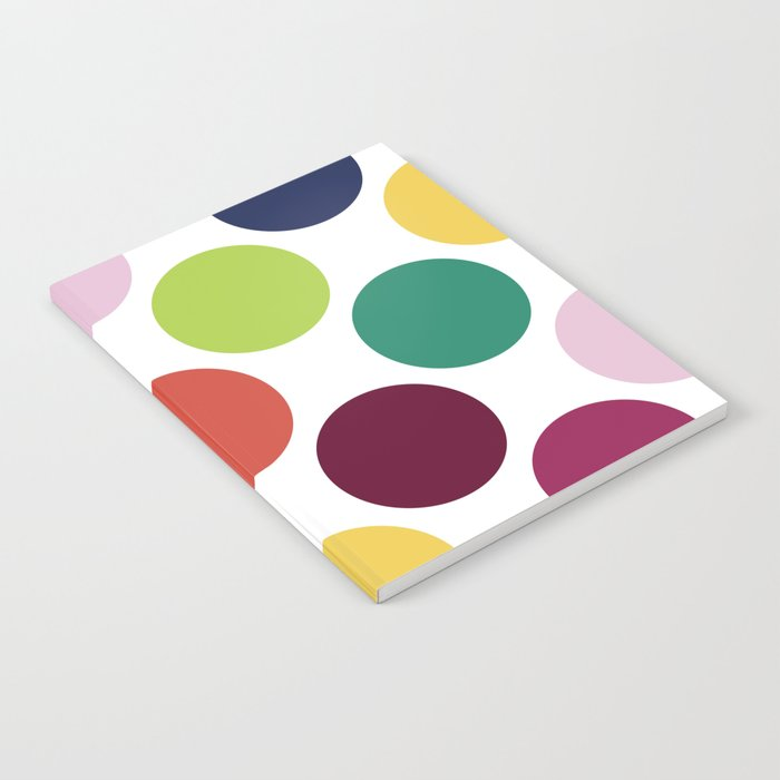 Colorful Dots Notebook