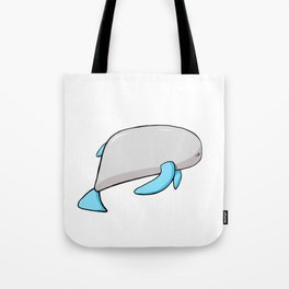 Scribble2Masterpiece - PLUMP WHALE from the Ocean! Tote Bag
