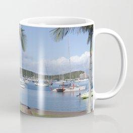 Boats in the Bay Coffee Mug