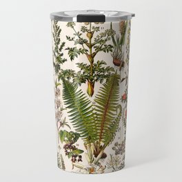 Adolphe Millot - Plantes Medicinales B - French vintage poster Travel Mug